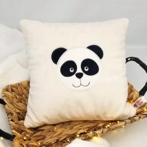 Coussin personnalisable – 30 x 30 Panda