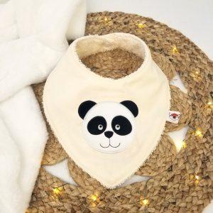 Bavoir bandana – Panda