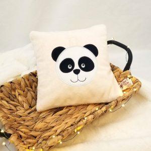 Coussin personnalisable –  24 x 24 Panda