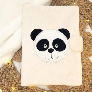 Couverture de carnet de santé – Panda