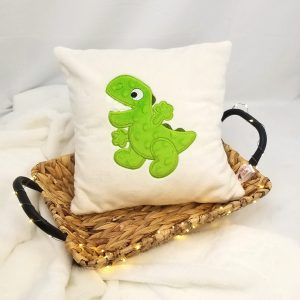 Coussin personnalisable – 30 x 30 Dinosaure